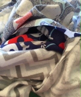 Anchors Away Baby Blanket 15