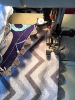 Anchors Away Baby Blanket 18