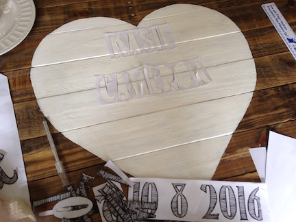 rustic reclaimed wood guest book sign how 4