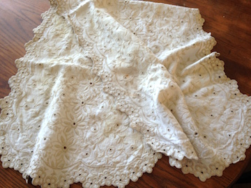 Tea-dyed Linen Pillowcase 1