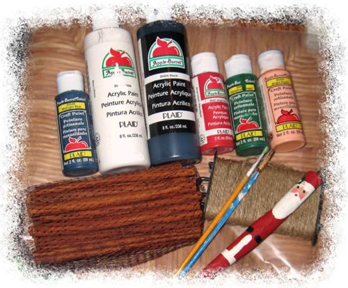 Cinnamon Stick Santas How 1