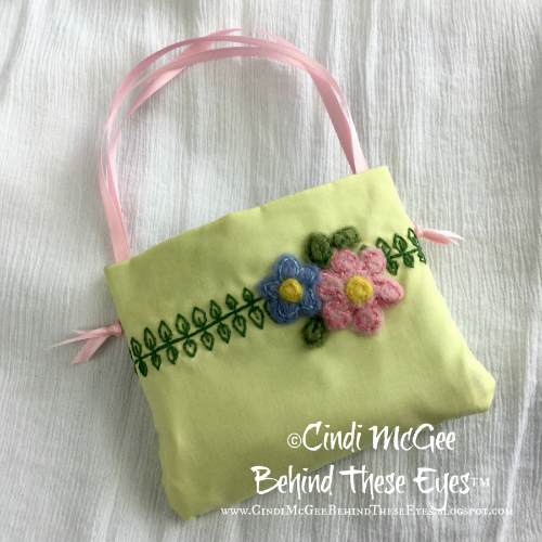 Needle Felted Child's Purse
