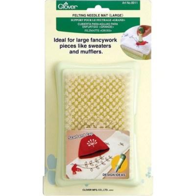 felting brush mat
