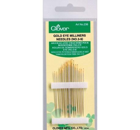 Gold Eye Milliners Needles