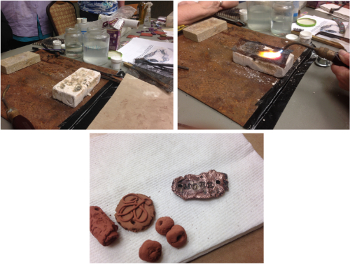 metal clay HOW 2