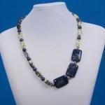 Elegant Shades of Blue Necklace
