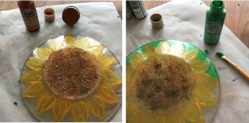 Sunflower Plate How 2