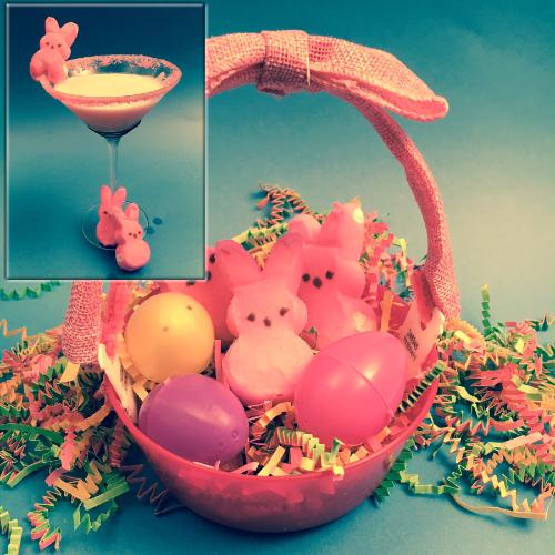 Peeps Cocktail & Easter Basket Snack Bowl