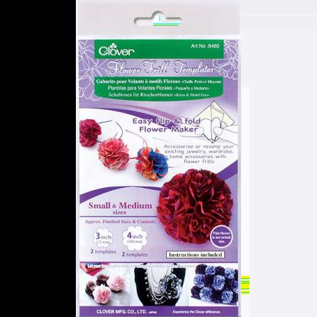 Clover® Flower Frill Templates