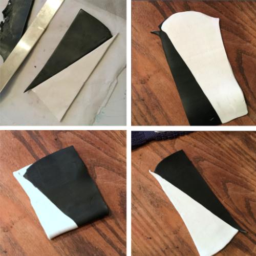 Snakeskin Polymer Clay Pendant How 1