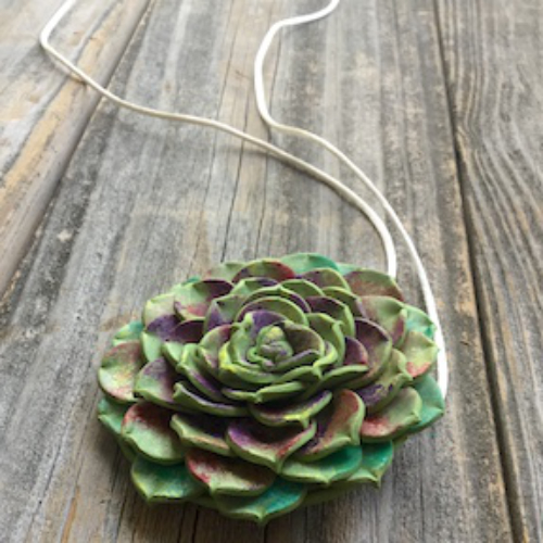 Succulent Pendant HOW 9