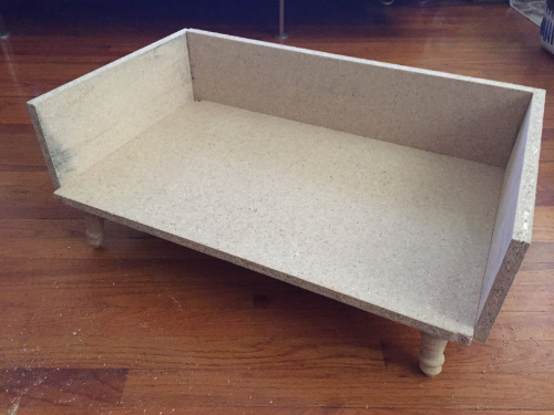 moochi's bed