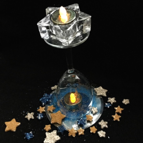 Dance Among the Stars Prom Table Centerpiece