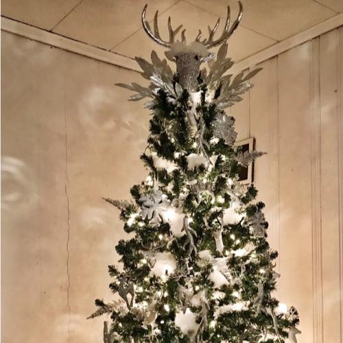 Disco Reindeer Christmas Tree