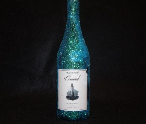Holiday Glitter Gift Bottle