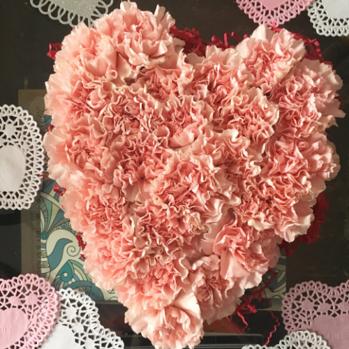 Carnation Candy Box Arrangement