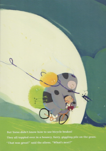 Mario and the Aliens go for a bike ride!
