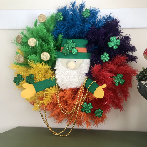 Treetopia Rainbow St. Patrick's Day Wreath