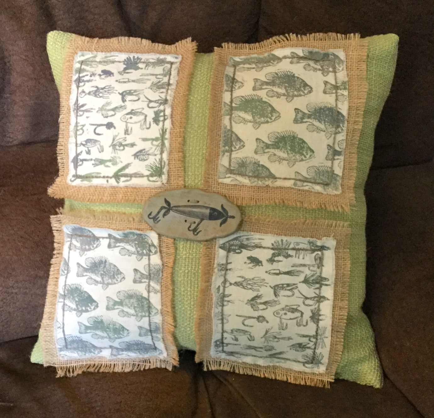 Gone Fishing Pillows