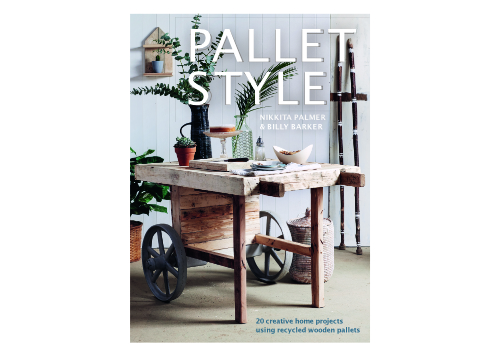 Pallet Style Book Cover