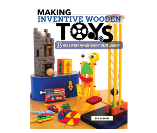 Making Inventive Wooden Toys cover