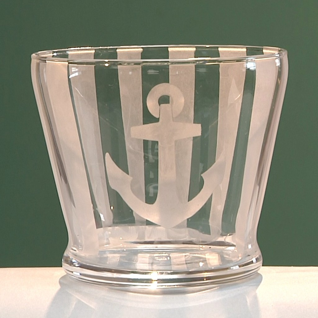 Nautical-Themed Baby Shower Vase