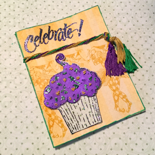 Celebrate! Mardi Gras Card