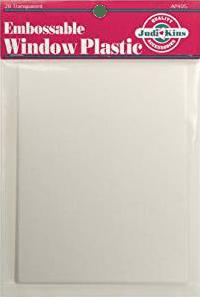 Embossable Window Plastic