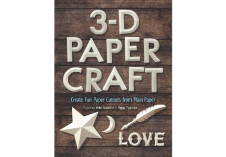 3-D Paper Craft Cover