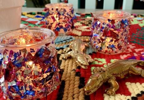 Confetti Candleholders