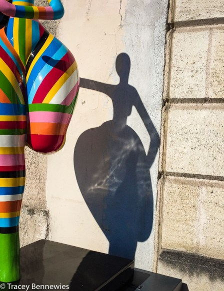 Mannequin Monday #48; A Colourful Run