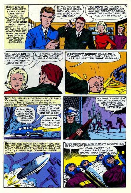 Fantastic Four 1 continuity
