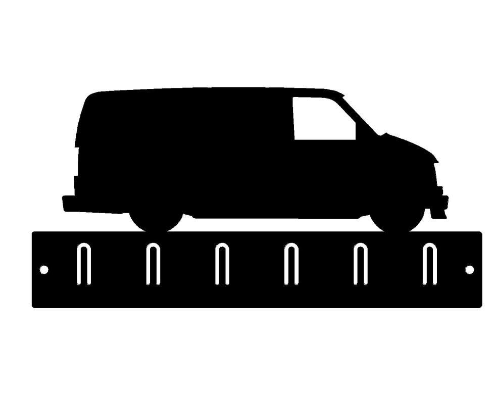 Key Rack: Chevy Day Van
