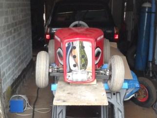 32' Salt Flats Racer Tot Rod: Ooh Shiny!