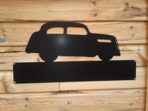 Silhouette Sign: Ford Pop