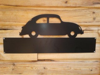 Silhouette Sign: Vw Beetle