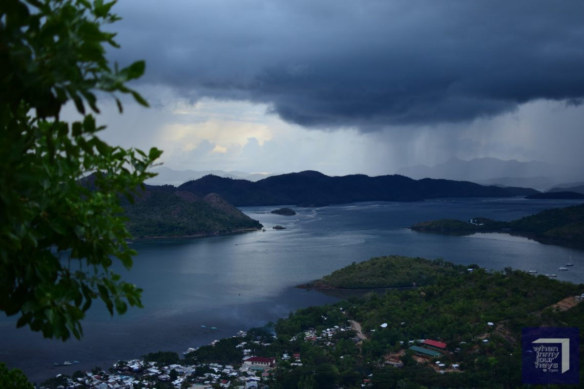 Mt Tapyas View over Coron Town Palawan