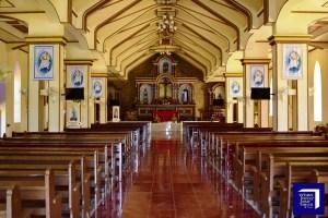 Basco Cathedral Altar Batanes