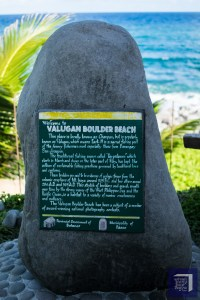 Valugan Boulder Beach Marker Batanes