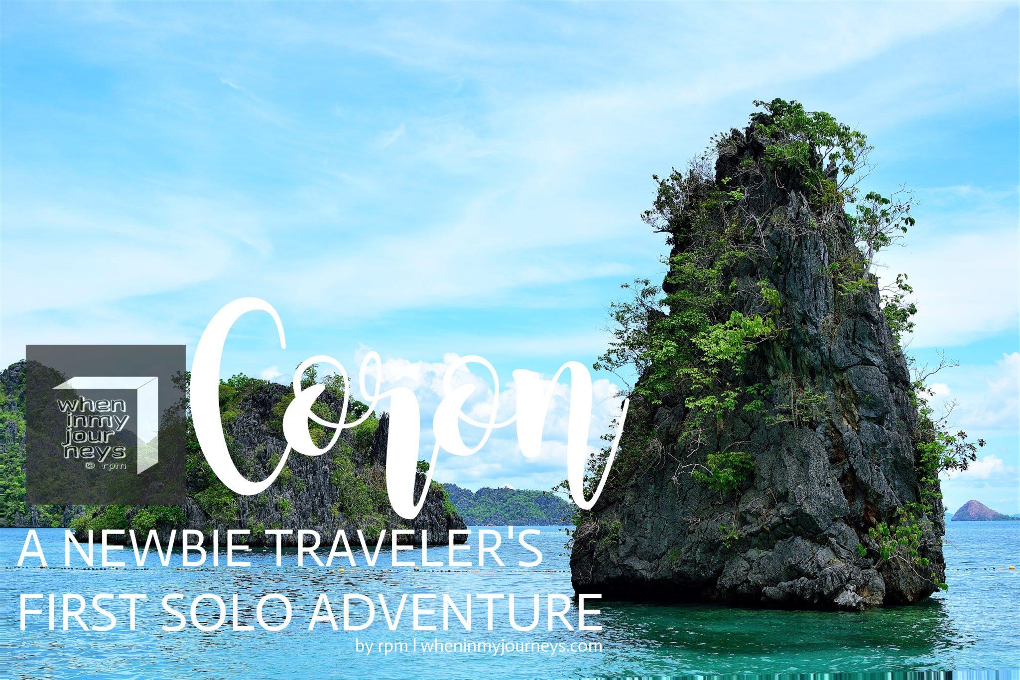 Coron A Newbie Traveler's First Solo Adventure