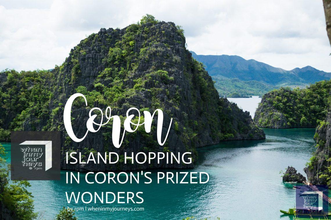 Coron Island Hopping in Coron's Prized Wonders