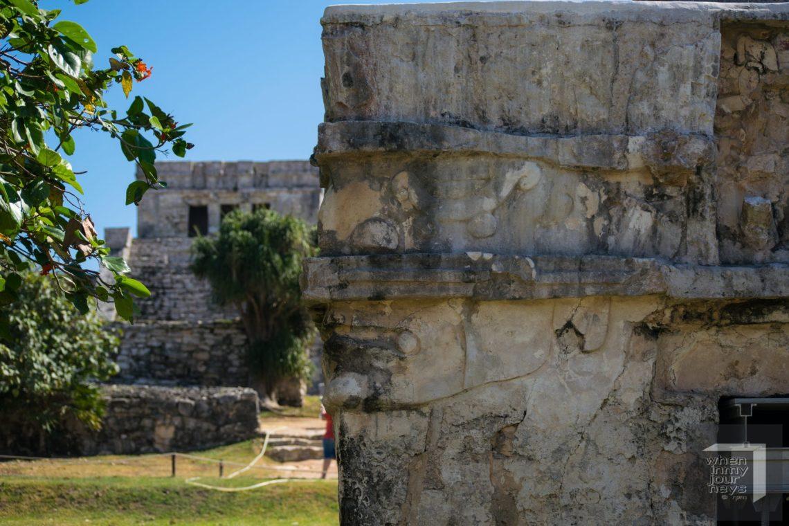 Temple of Frescos Tulum Ruins