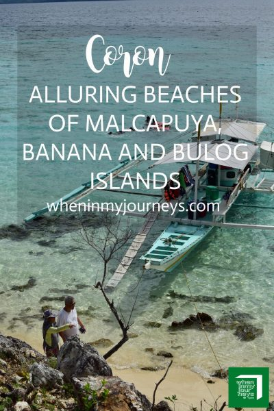 Coron Alluring Beaches of Malcapuya, Banana and Bulog Islands Portrait