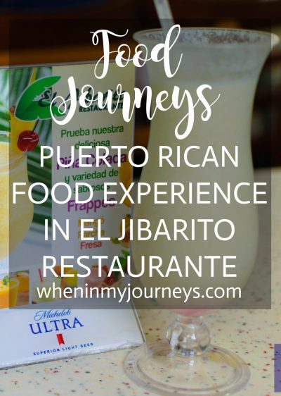 Food Journeys Puerto Rican Food Experience in El Jibarito Restaurante Portrait