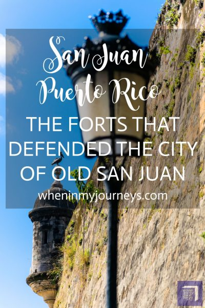 Old San Juan Puerto Rico The Forts That Defended the City of Old San Juan Portrait