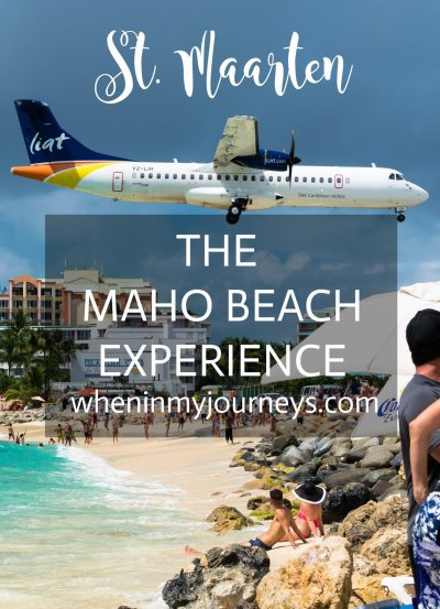 St. Maarten The Maho Beach Experience Portrait