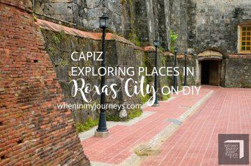 Capiz -Exploring Places in Roxas City on DIY2