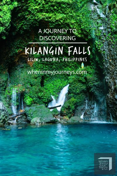 Laguna A Journey to Discovering Kilangin Falls of Liliw Portrait