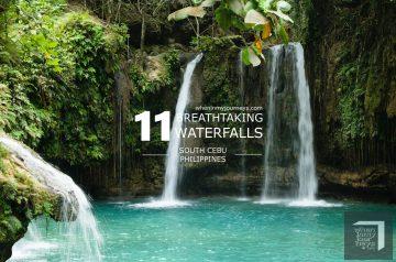 Cebu 11 Breathtaking Waterfalls of South Cebu - Kawasan Falls