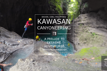 Cebu Kawasan Canyoneering A Prelude to Extreme Adventures